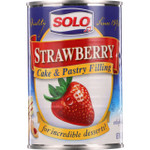 Solo Baker Filling Strawberry 12 oz 1 each