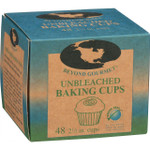 Beyond Gourmet Baking Cups Large 2.5 in Unbleached 48 Count