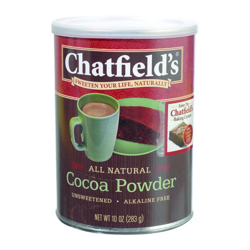 Chatfield's All Natural Cocoa Powder Unsweetened 10 oz
