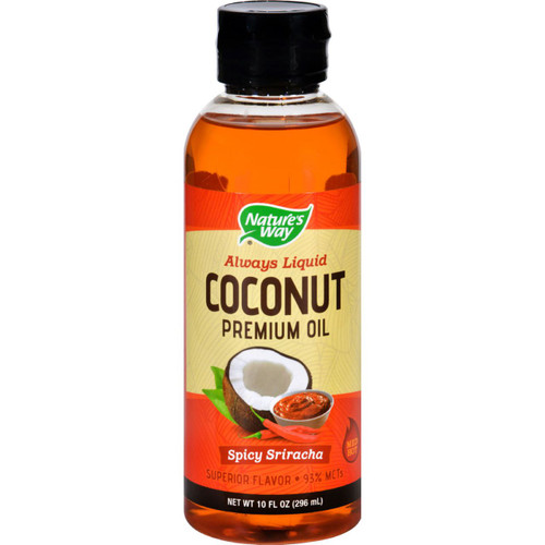 Natures Way Coconut Oil Premium Spicy Sriracha 10 oz