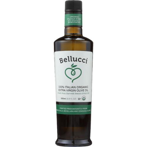 Bellucci Premium Olive Oil Organic Extra Virgin Premium 500 ml case of 6