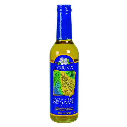 Loriva Sesame Oil Cold Pressed Extra Virgin 12.7 oz