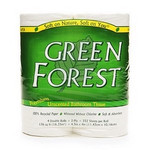 Green Forest Unscented Bathroom Tissue (12x4PK )
