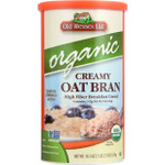 Old Wessex Oat Bran Organic Hot Cereal 18.5 oz case of 12