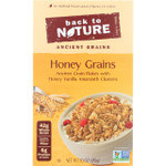 Beack To Nature Cereal Honey Grains 10 oz case of 6