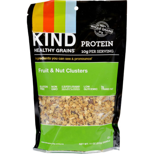 Kind Clusters Granola Healthy Grains Fruit and Nut 11 oz Case of 6