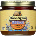 Once Again Honey Natural Wildflower 1 lb 1 each