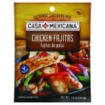 Casa Mexicana Authentic Seasoning Mix Chicken Fajitas 1 oz Case of 12