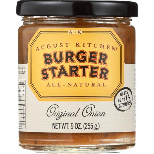 August Kitchen Seasoning J Burger Original Onion 9 oz case of 6