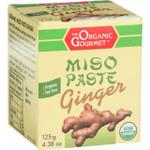 Organic Gourmet Miso Paste Ginger 4.38 oz