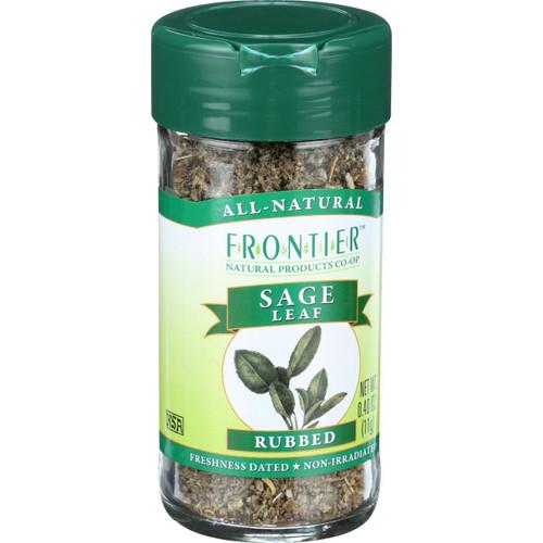 Frontier Herb Sage Leaf Rubbed .40 oz