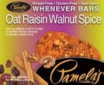 Pamela's Oat Raisin Walnut Spice Bars (6x5 CT)