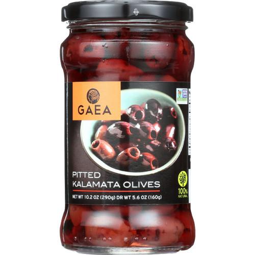 Gaea Olives Kalamata Pitted 5.6 oz 1 each