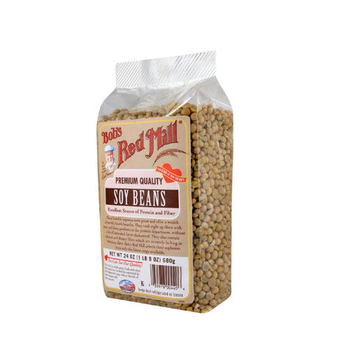 Bob's Red Mill Soy Beans 24 oz Case of 4