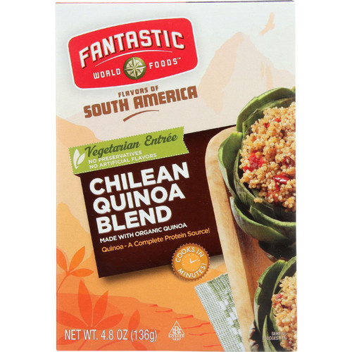 Fantastic World Foods Quinoa Blend Organic Chilean 4.8 oz case of 6