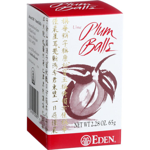 Eden Foods Ume Plum Balls 2.28 oz