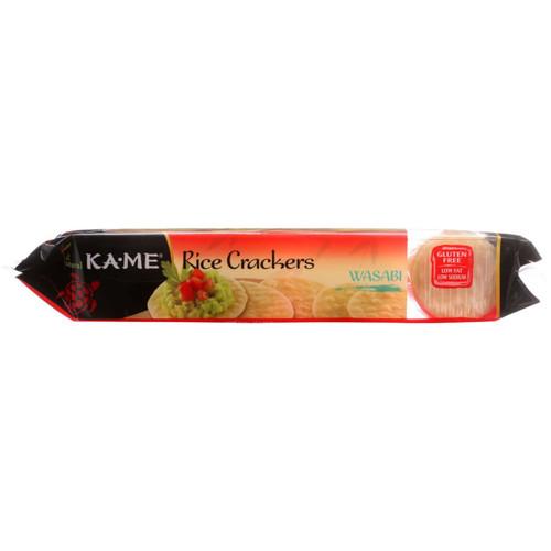 KaMe Rice Crackers Wasabi 3.5 oz 1 each
