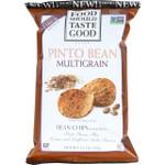 Food Should Taste Good Bean Chips Multigrain Pinto Bean 5.5 oz case of 12
