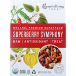 Essential Living Foods Snack Mix Organic Superberry Symphony Dried Raw 8 oz case of 6