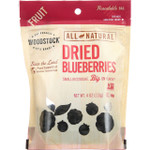 Woodstock Fruit All Natural Blueberries Dried 4 oz case of 8