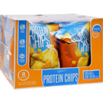 Quest Protein Chips Cheddar and Sour Cream 1.25 oz Case of 8