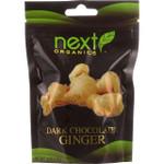 Next Organics Ginger Organic Dark Chocolate Coated 4 oz case of 6