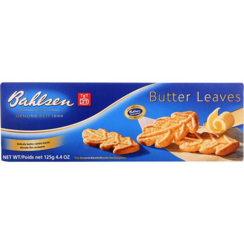 Bahlsen Cookies Butter Leaves 4.4 oz 1 each