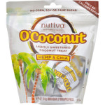 Nutiva OCoconut Snack Organic Hemp and Chia 4 oz Case of 8