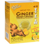 Prince of Peace Tea Instant Ginger Honey Crystals with Lemon 10 Sachets