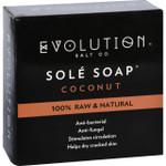 Evolution Salt Bath Soap Sole Coconut 4.5 oz