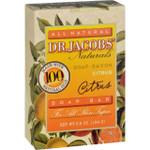Dr. Jacobs Naturals Bar Soap Castile Citrus 6.5 oz