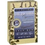Dr. Jacobs Naturals Bar Soap Castile Peppermint 6.5 oz