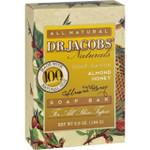 Dr. Jacobs Naturals Bar Soap Castile Almond Honey 6.5 oz