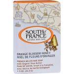 South of France Bar Soap Orange Blossom Honey Travel 1.5 oz Case of 12