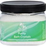 White Egret Bath Crystals Purity 16 oz