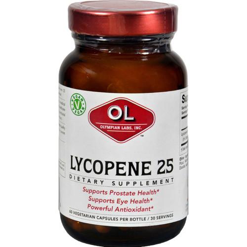 Olympian Labs Lycopene 25 mg 60 Vege Capsules