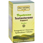 Only Natural Testosterone Support Vege 60 Vege Capsules