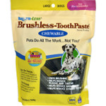 Ark Naturals Breath Less Brushless ToothPaste Chewable Large Dogs 18 oz