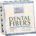 Peelu Toothpowder Dental Fibers Fresh Peppermint .53 oz