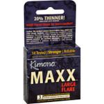 Kimono Condoms Maxx Large Flare 3 Count