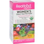 Realfood Organics Daily Nutrition Organic Womens 120 Tablets