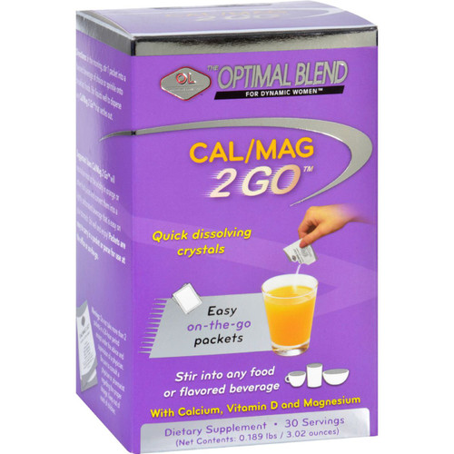 Optimal Blend Cal Mag 2 Go 30 Packets
