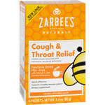 Zarbee's Cough and Throat Relief Drink Mix Daytime Supplement 6 Packets