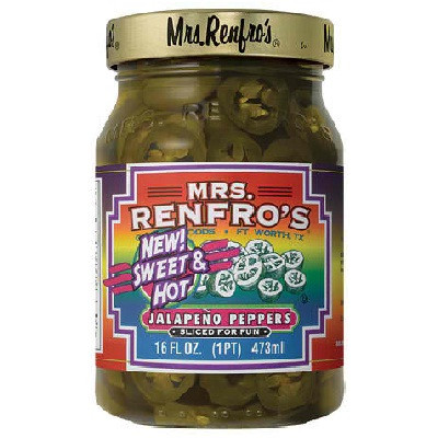 Mrs Renfro's Sweet HotSliced Pepper (6x16OZ )