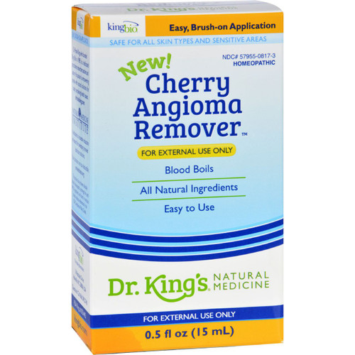 King Bio Homeopathic Cherry Angioma Remover .5 oz