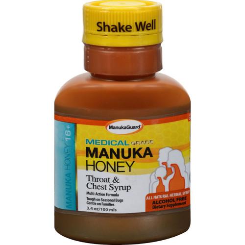 Manukaguard Throat and Chest Syrup 100 ml 3.4 fl oz