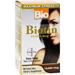 Bio Nutrition Biotin 10000 mcg 60 Tablets