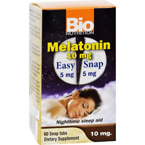 Bio Nutrition Melatonin 10 mg 60 Tablets