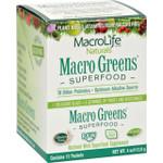 MacroLife Naturals Macro Greens Original 12 Packets 4 oz