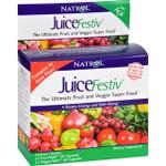 Natrol JuiceFestiv and VeggieFestiv Buy One Get One Free 2 ct 60 Caps